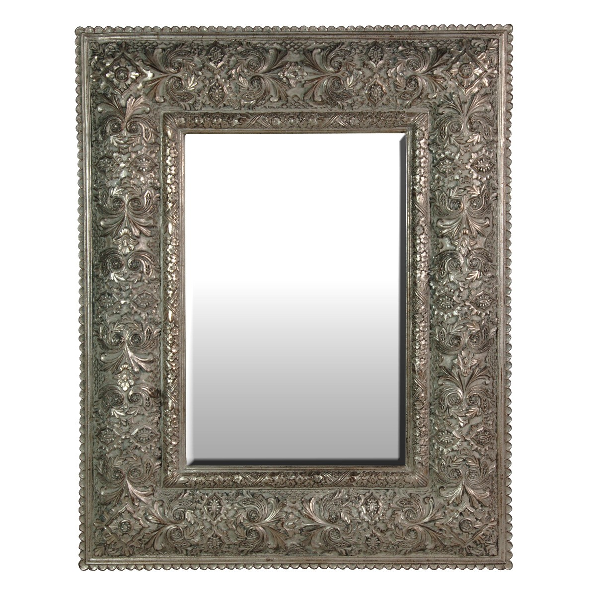 Karma silver wall mirror french bedroom company - Bedroom wall mirrors ...