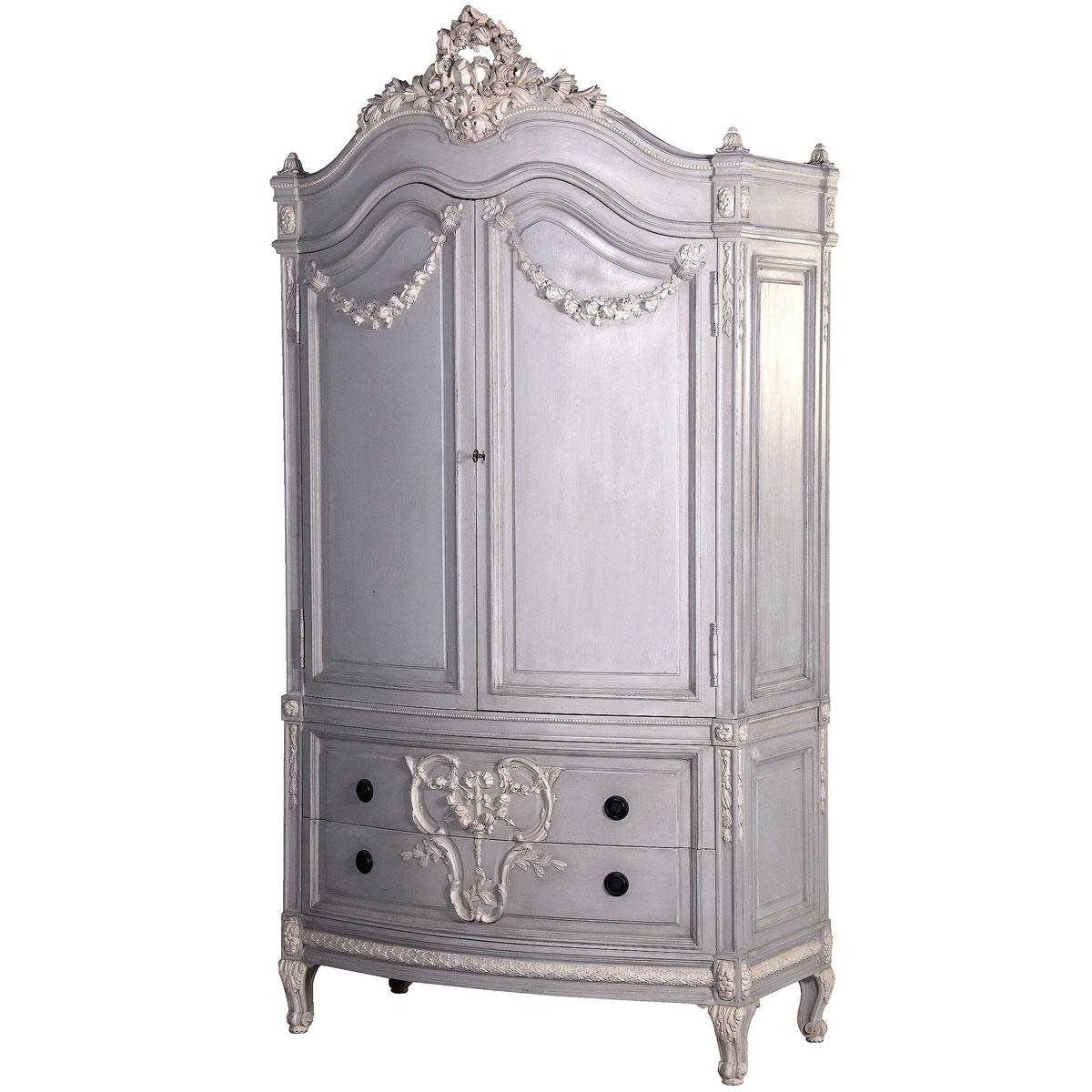 french wardrobes shabby chic wardrobes french bedroom company. Black Bedroom Furniture Sets. Home Design Ideas