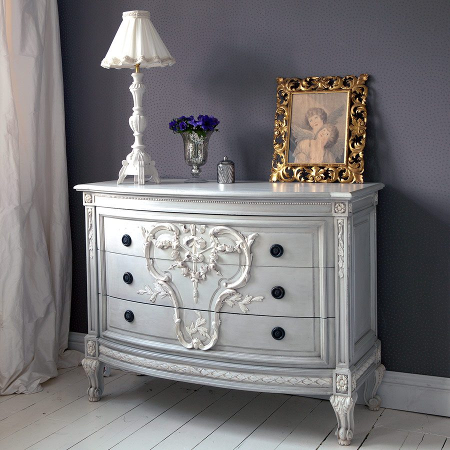 bonaparte pale blue chest of drawers french bedroom company. Black Bedroom Furniture Sets. Home Design Ideas