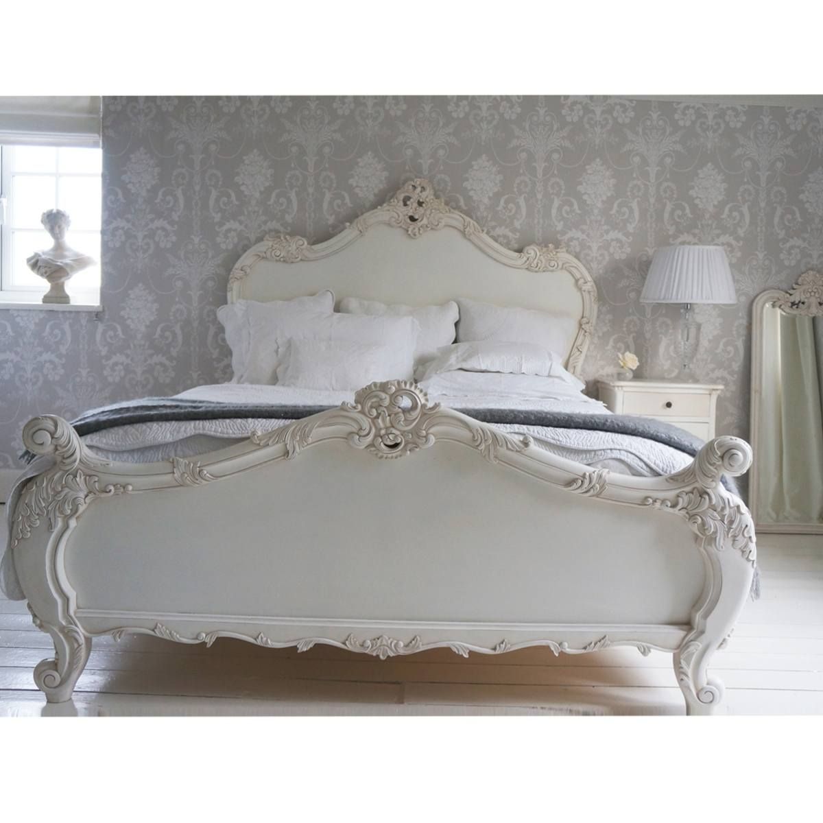 Provencal Sassy White French Bed French Bedroom Company