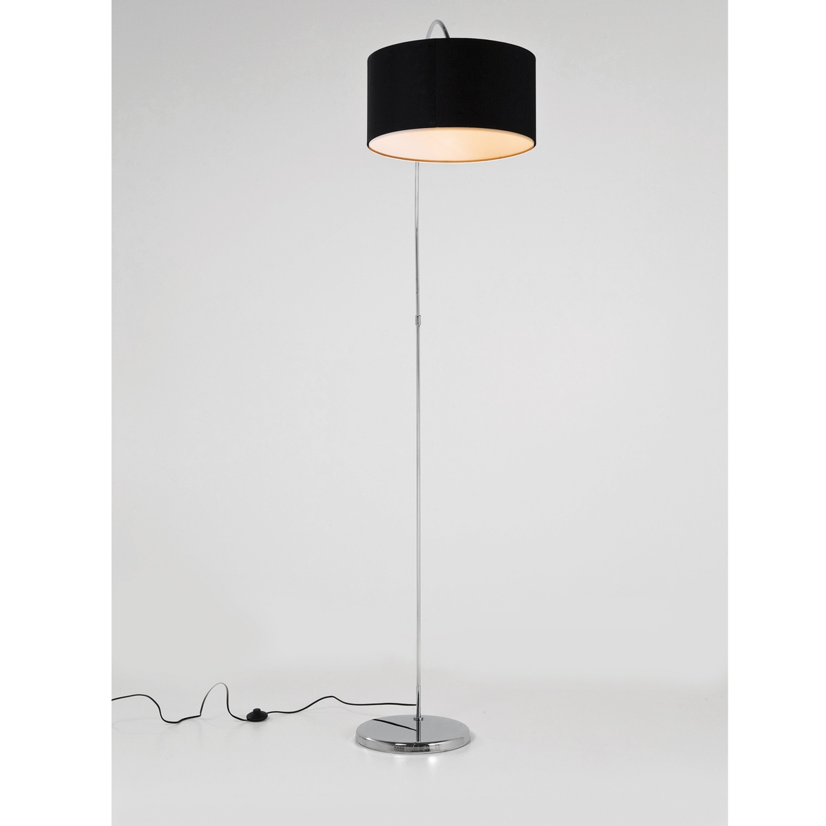 Belleville Retro Arch Black Floor Lamp, French Bedroom Company