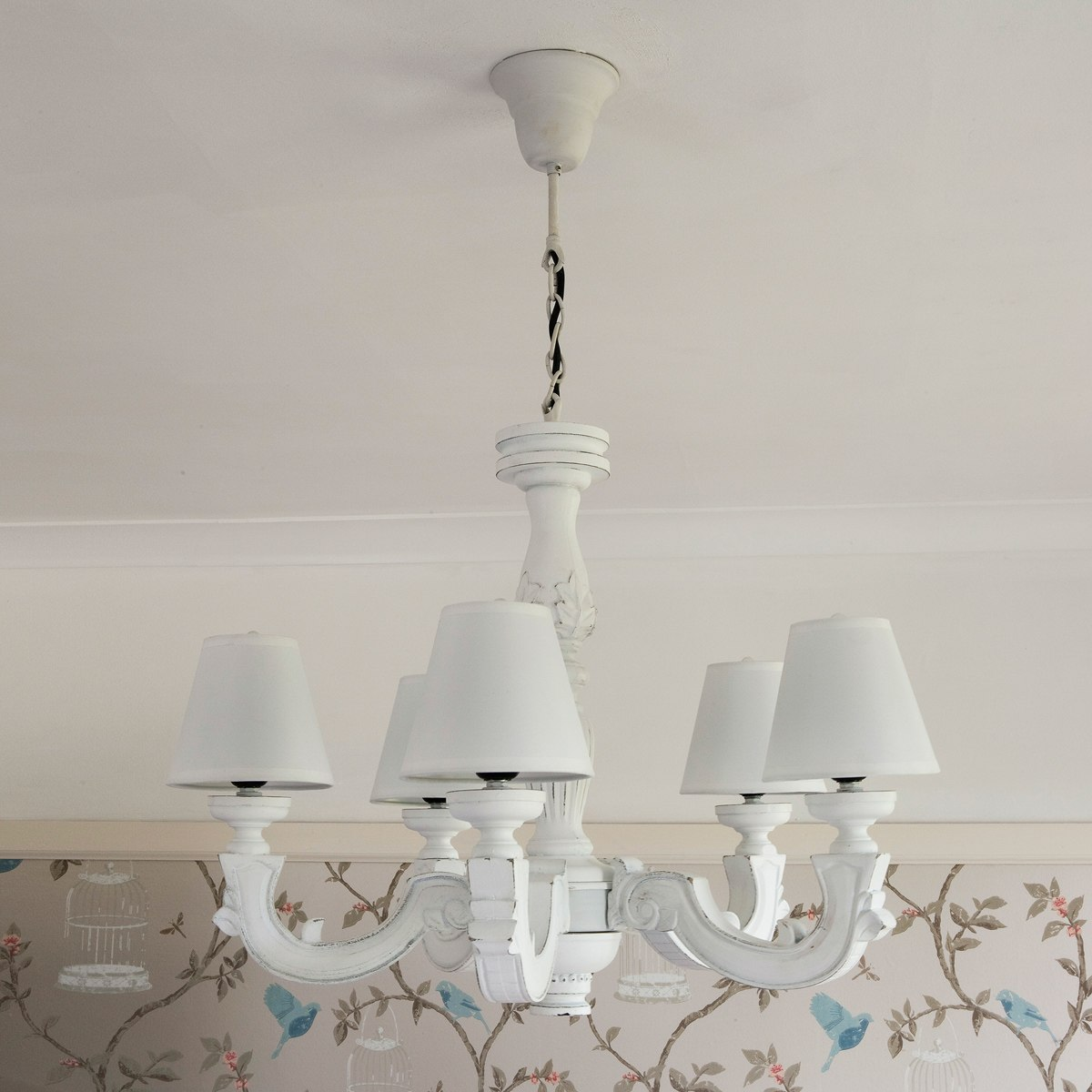 madeleine white wooden chandelier french bedroom company