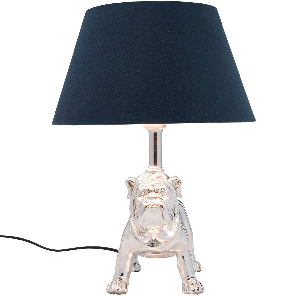 NEW Polished Bouledogue Table Lamp