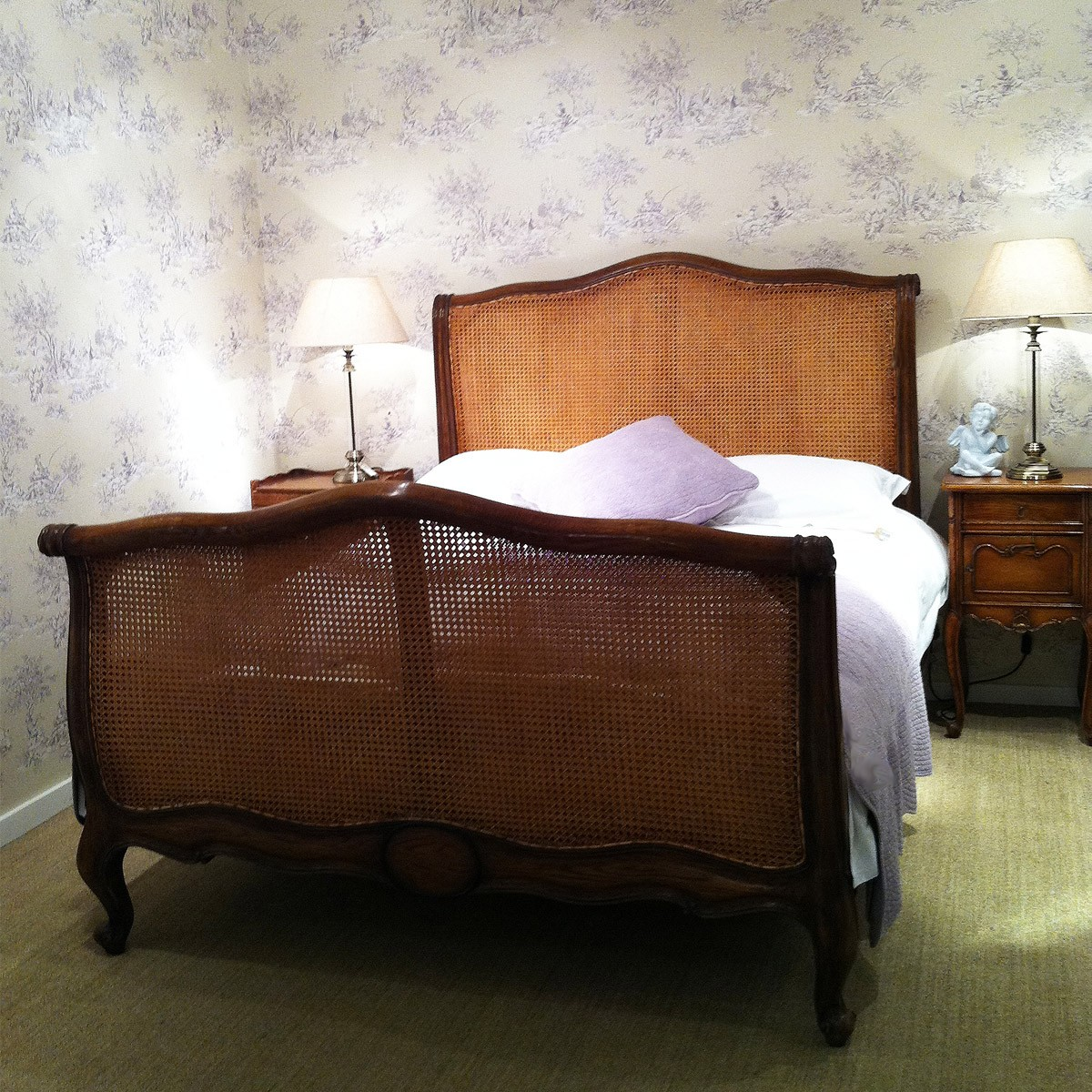 french beds and upholstered beds french bedroom company. Black Bedroom Furniture Sets. Home Design Ideas