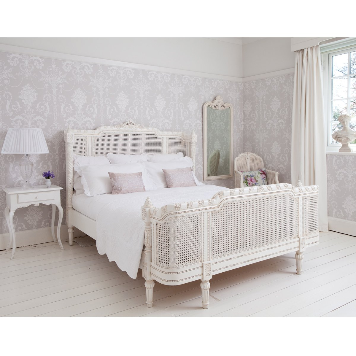 provencal lit lit painted french bed french bedroom company. Black Bedroom Furniture Sets. Home Design Ideas