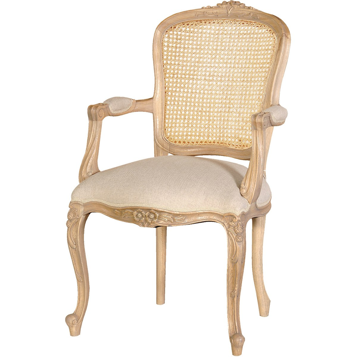 French Carved Chairs And Armchairs