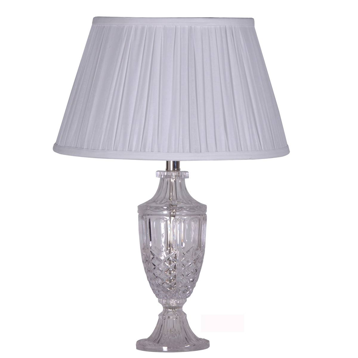 Daphne Cut Glass Elegant Table Lamp, French Bedroom Company