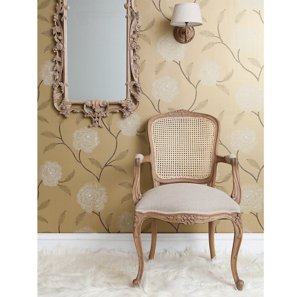 Antoinette French Sleigh Bedroom Armchair: French Carved Chairs And Armchairs
