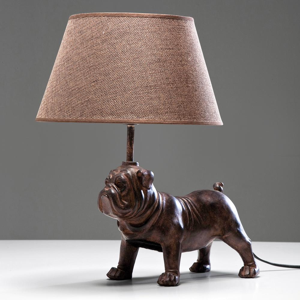 Petit Bouledogue Bulldog Table Lamp French Bedroom Company