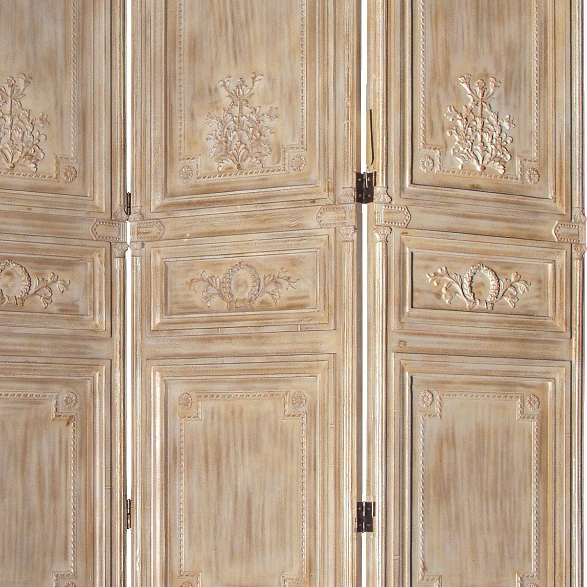 Wooden Dressing Screen ~ Limed wooden dressing screen french bedroom company