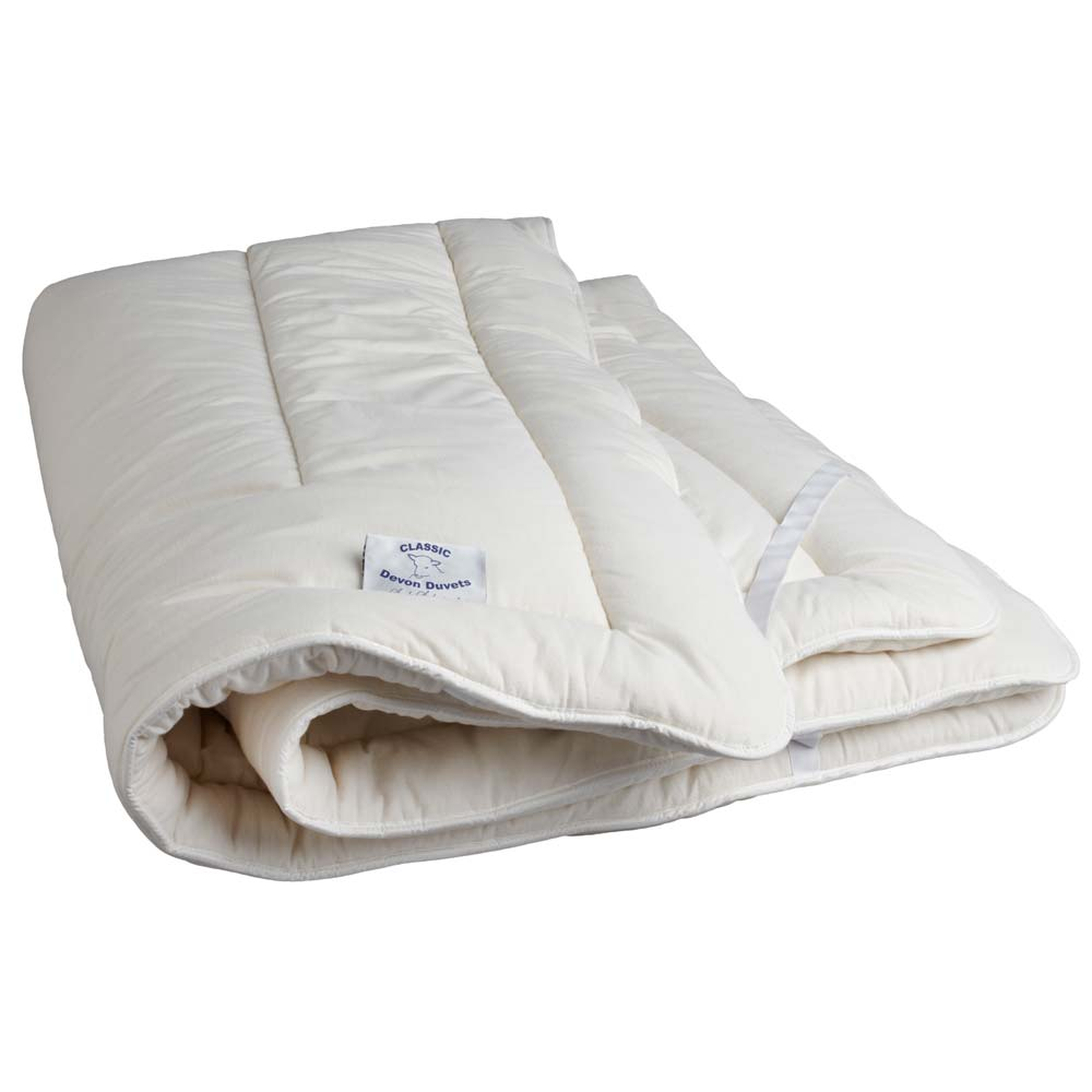 Devon Duvets Wool Mattress Topper French Bedroom pany
