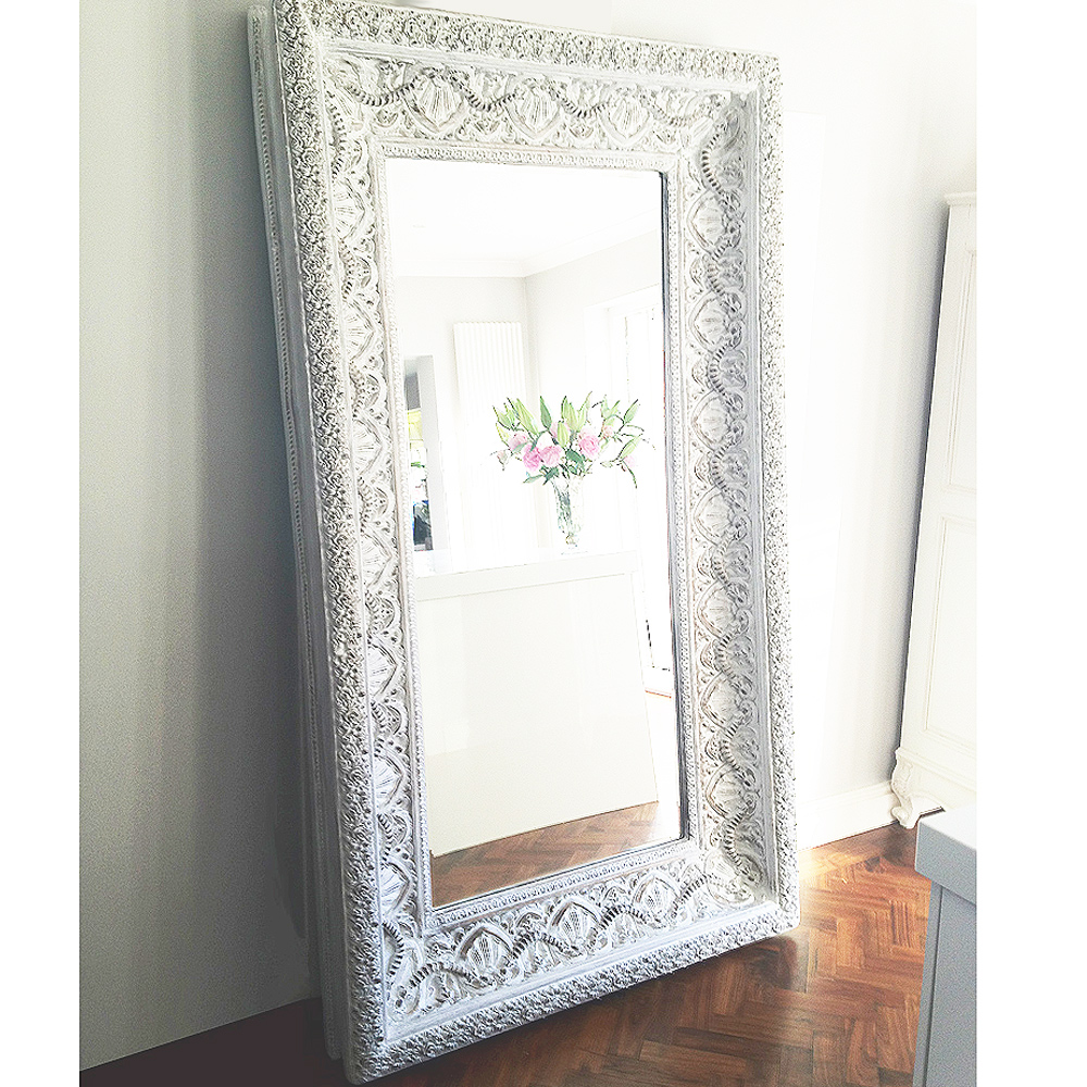 Ibiza free standing floor mirror french bedroom company for Standing mirror for bedroom