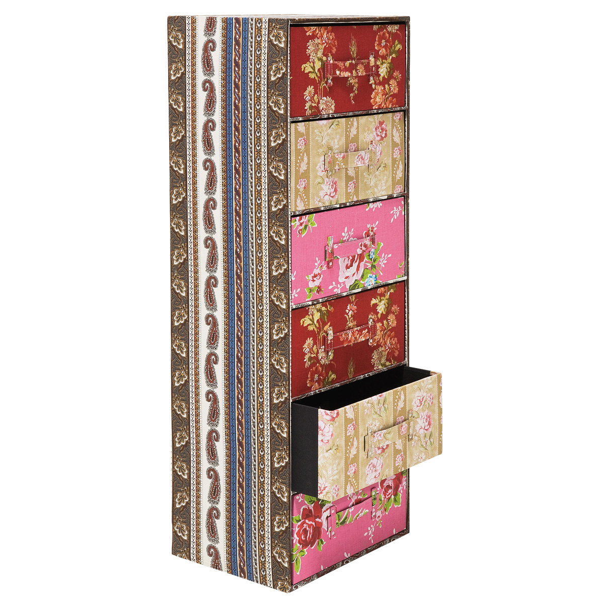 romany patchwork boho coco chest french bedroom company. Black Bedroom Furniture Sets. Home Design Ideas