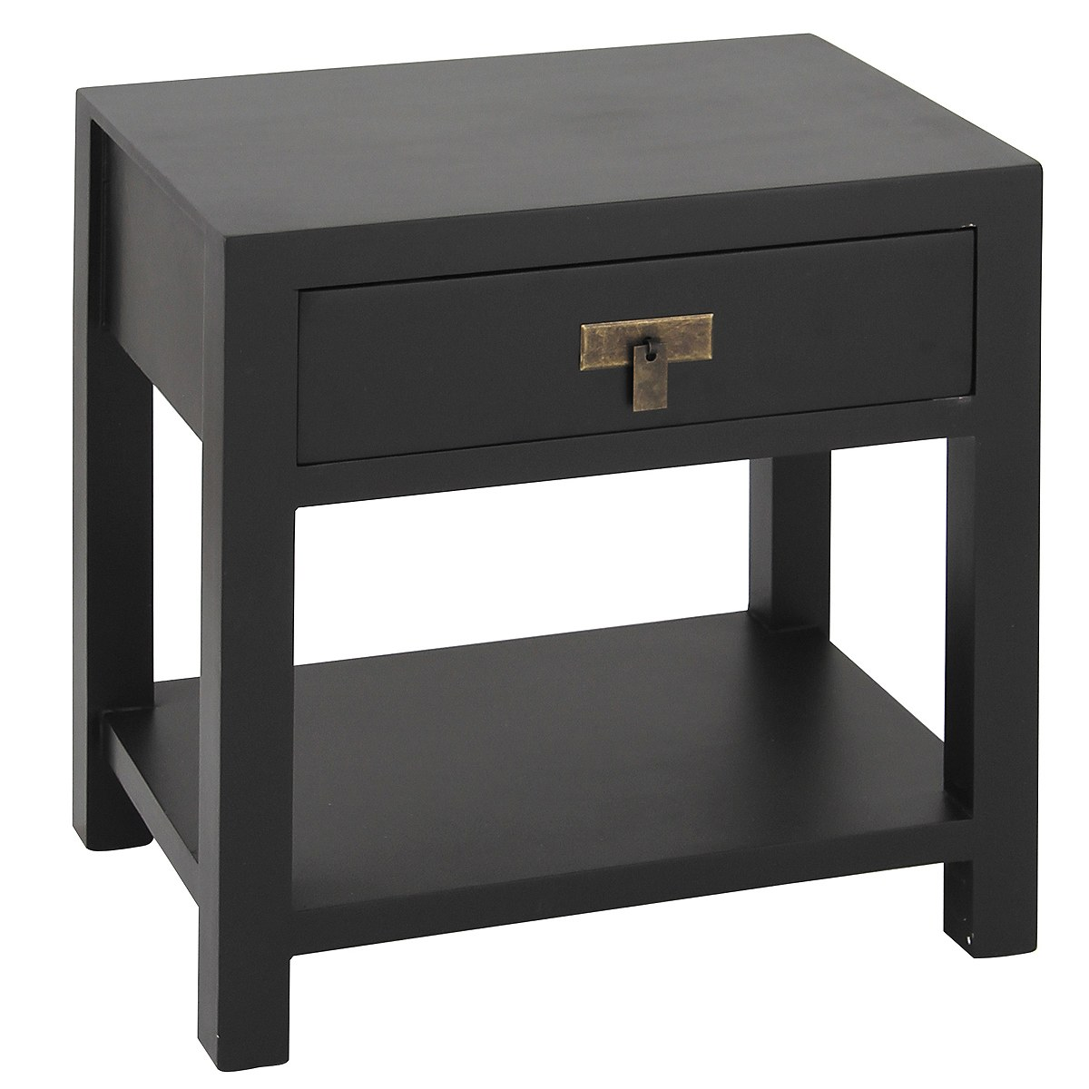 French bedside tables bedsides french bedroom company for Bedside table shelf