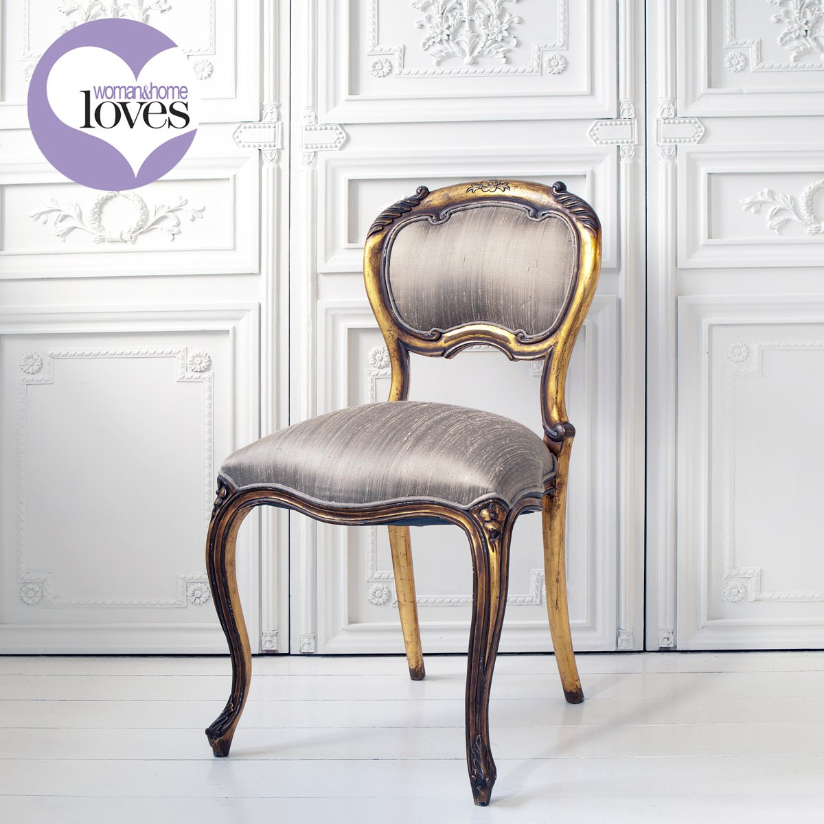 versailles baby gold french chair french bedroom company. Black Bedroom Furniture Sets. Home Design Ideas