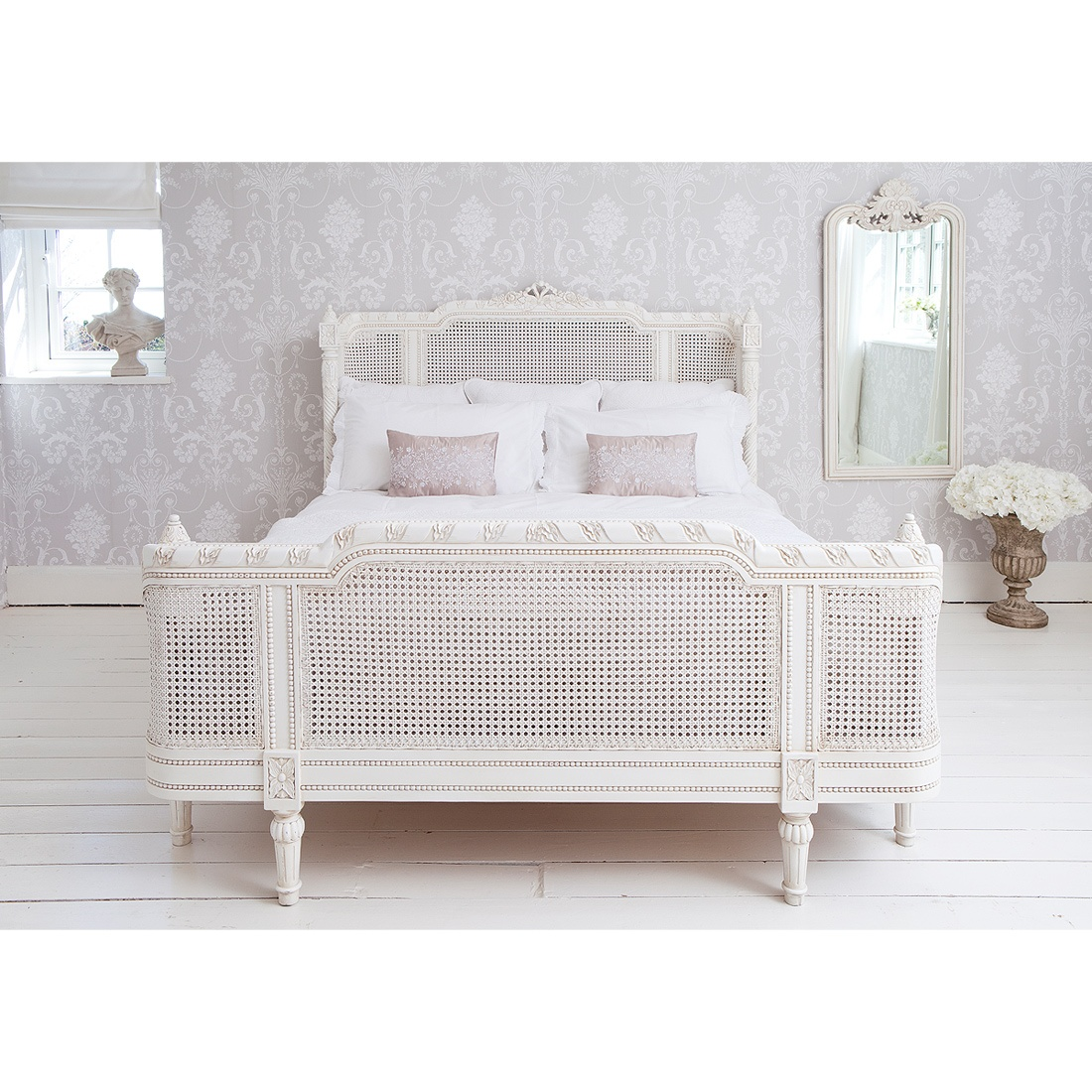 Provencal Lit Lit Painted French Bed French Bedroom Company
