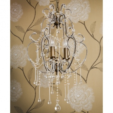 Frou Frou Glass Chandelier by The French Bedroom Company
