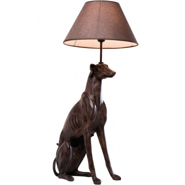 windhund greyhound bronze dog table lamp french bedroom. Black Bedroom Furniture Sets. Home Design Ideas