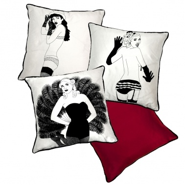 Brighton Burlesque Cushions