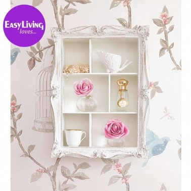 Arthouse Cluster Shelves in White by The French Bedroom Company