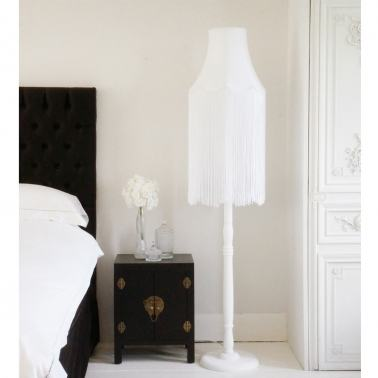 floor lamp pure white floor lamps lighting french bedroom. Black Bedroom Furniture Sets. Home Design Ideas