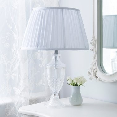 daphne cut glass elegant table lamp french bedroom company