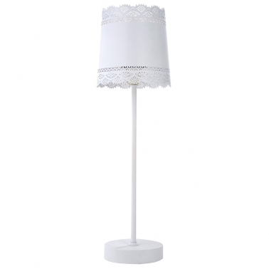 Little Lacey White Lamp