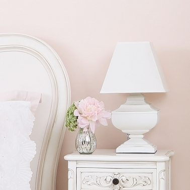 Squat Shabby Chic Lamp by The French Bedroom Company