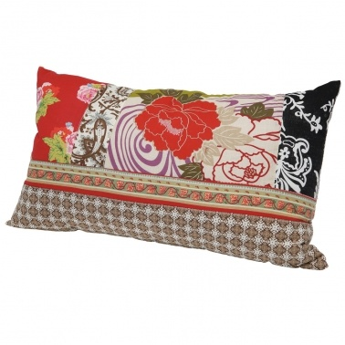 Romany Boudoir Patchwork Cushion