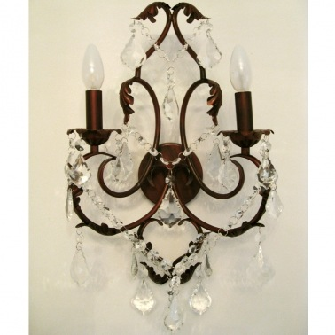 Romantica Bronze Wall Sconce