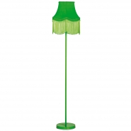 Fluoro Fringe Lime Green Floor Lamp