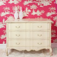 Parisian Classic Shabby Chic Chest of Drawers