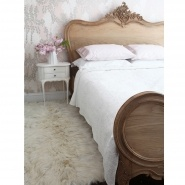 Antoinette Oak French Luxury Bed