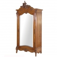 Etienne Mirrored Armoire