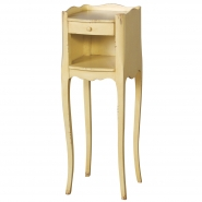 Parisian Dainty Cream Bedside Table
