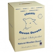 Devon Duvets Medium Weight Wool Duvet, 600g