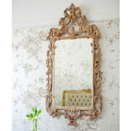 Antoinette Fine French Oak Mirror