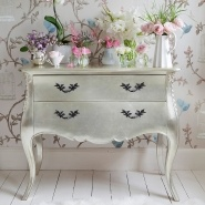Sylvia Silver Chest of Drawers