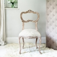 Anne-Marie Carved Chair
