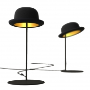 Jeeves Bowler Hat Table Lamp, by Jake Phipps