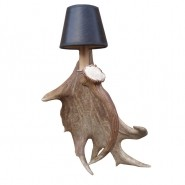 Fight Me Antler Wall Sconce