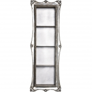 Arthouse Tall Shelf in Silver