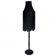 Fade Fringe Floor Lamp (Pure Black)
