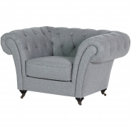 Spitalfield Grey Armchair