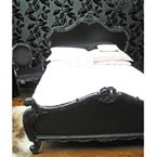 Sassy Boo Black French Bed (Image 1)
