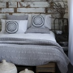 Ruffle Ruched White Bed Linen (Image 4)