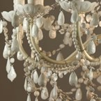 Mimi White 12-Arm Chandelier (Image 2)