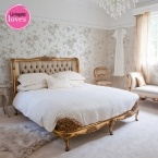 Versailles Luxury Upholstered Bed (Image 1)
