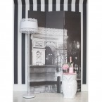 Café de Paris Dressing Screen (Image 4) by The French Bedroom Company