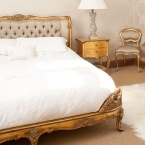 Versailles Luxury Upholstered Bed (Image 5)
